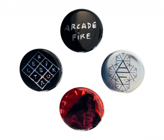 Reflektor Button Pack - Deluxe