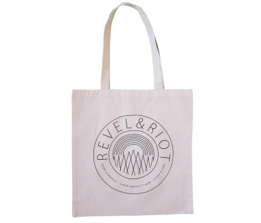 Lightweight Emblem Tote Bag