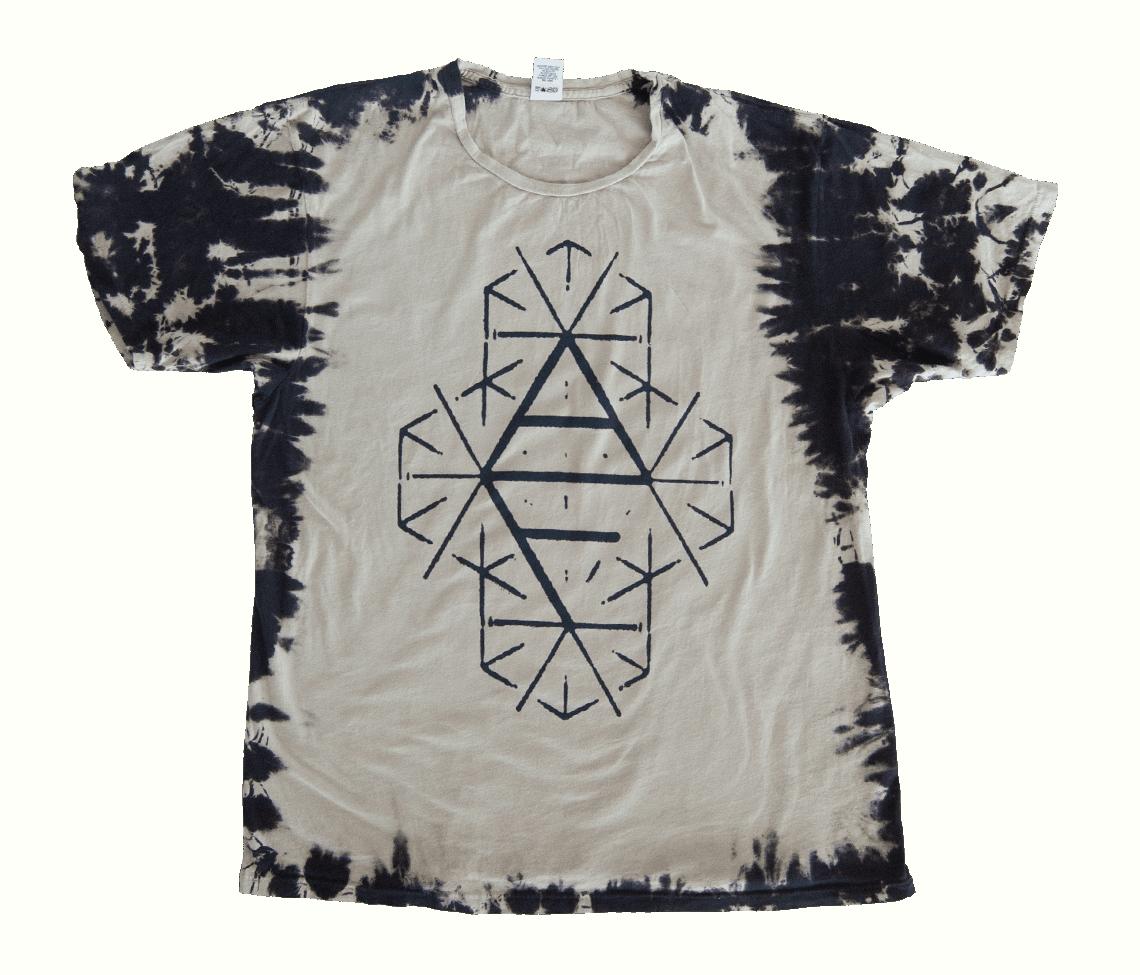 Af Logo T Shirt Acid Wash Apparel Arcade Fire Online