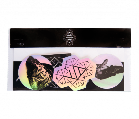Reflektor Stickers Set