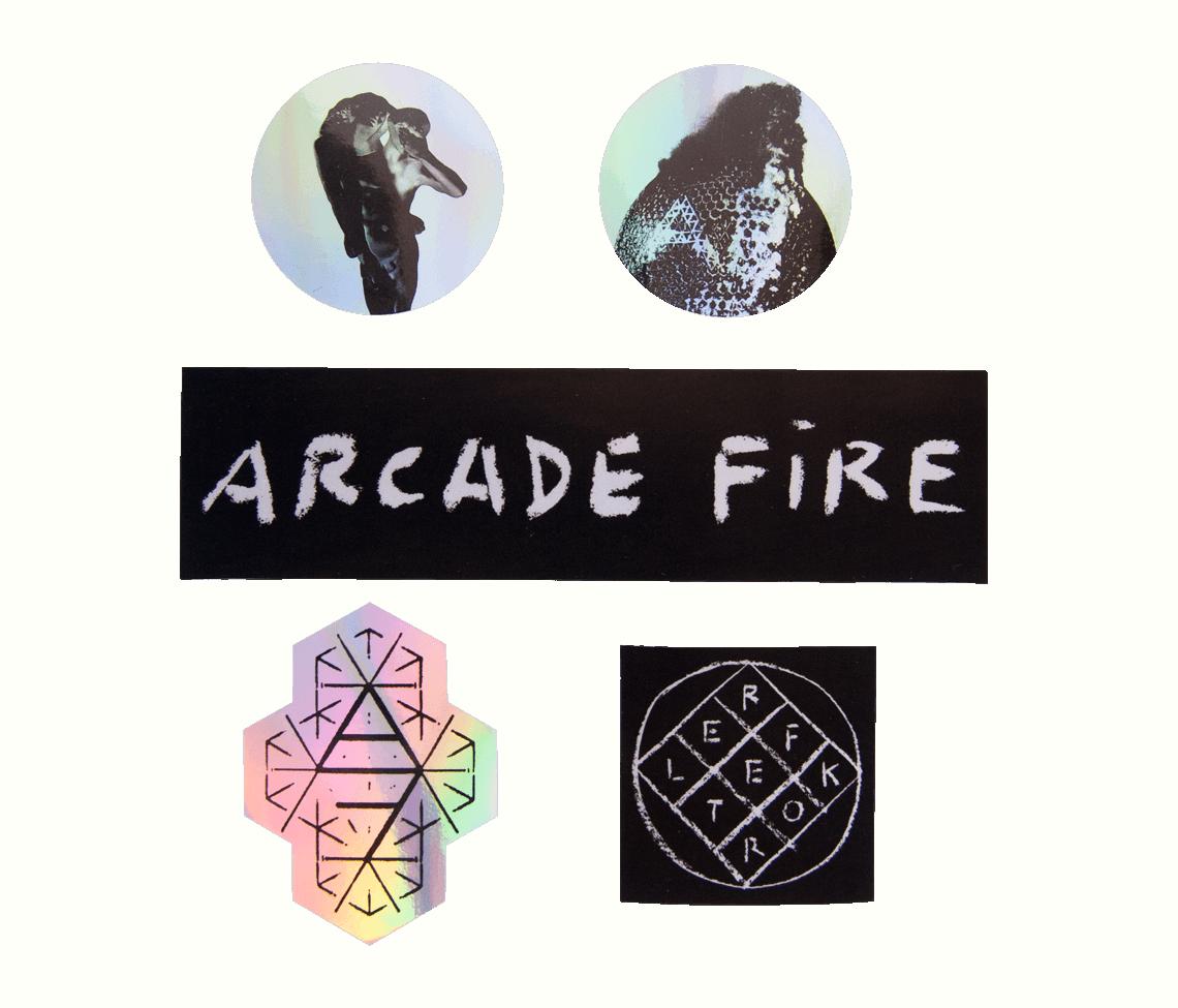 Reflektor Stickers Set Accessories Arcade Fire Online