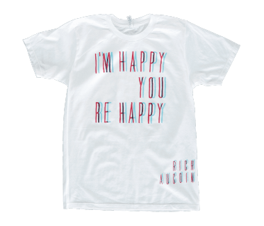 Unisex 3D Happy T-Shirt