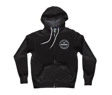 Unisex Feather Zip Hoodie