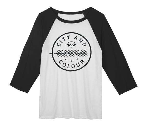 Feather Eye Raglan Shirt