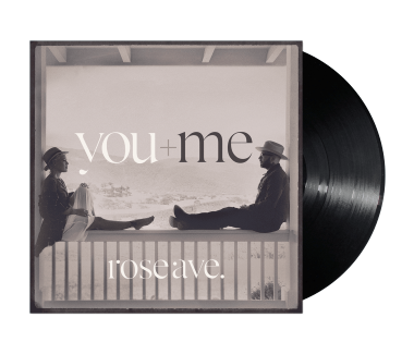 "YOU+ME rose ave. 12"" Vinyl (Black)"