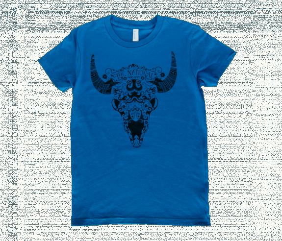 Women S Bison T Shirt Royal Blue T Shirts The