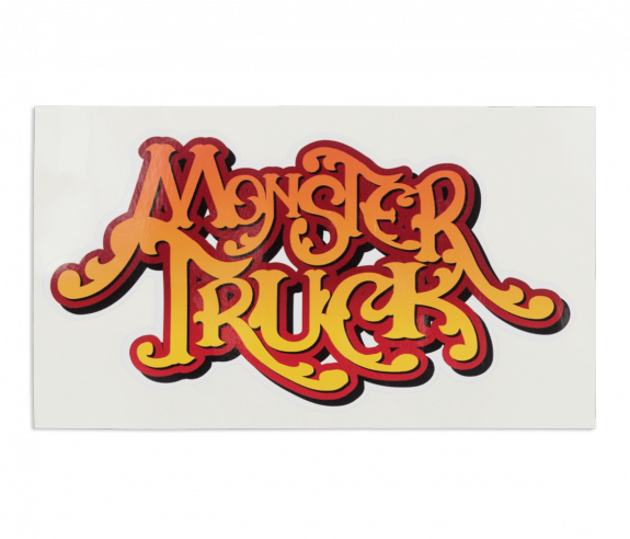 Monster Truck Sticker