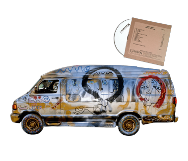VAN w/ only CD copy of 'Days of Surrender' in existence, direct from the mastering plant
