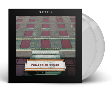 "Pagans in Vegas 2x12"" Vinyl (Clear)"