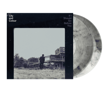 "If I Should Go Before You 2x12"" Vinyl (Clear w/ Black Smoke)"