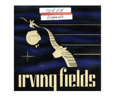 Irving Fields 78 R.P.M Originals CD