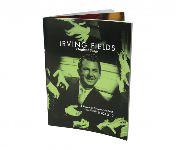 Irving Fields Original Songs: Music Book