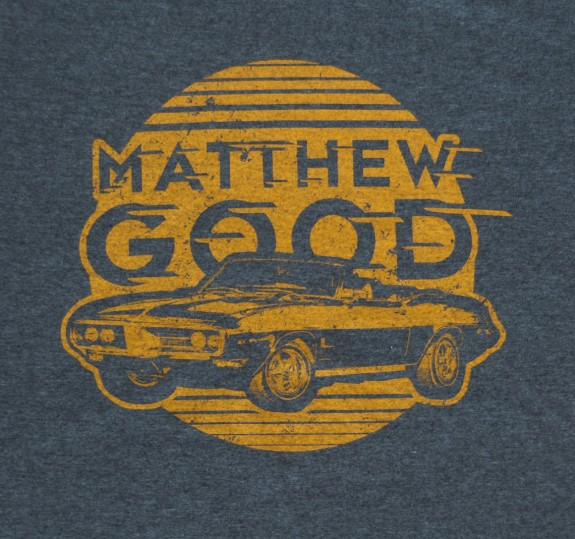 Classic Car T Shirt Dark Heather T Shirts Matthew Good Store