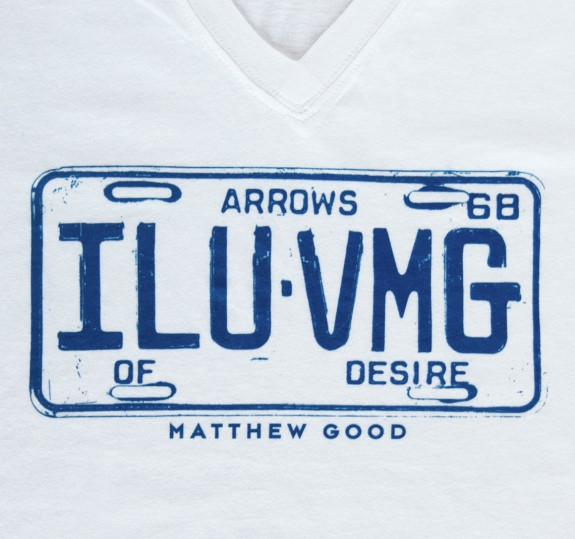 Women's ILUVMG V-Neck T-Shirt
