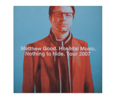 Hospital Music 2007 Tour Poster