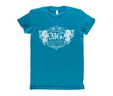 Women's Crest T-Shirt Teal