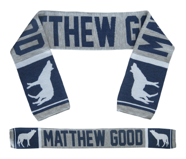 Scarf Heather Navy