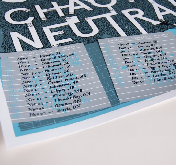 Chaotic Neutral Tour Poster