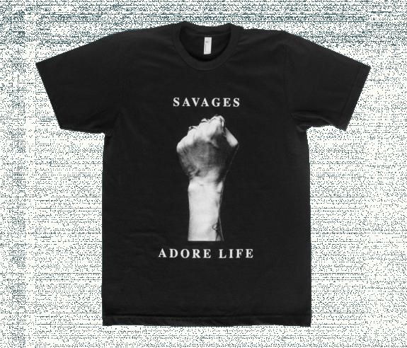 Fist T Shirt Black T Shirts Savages Online Store