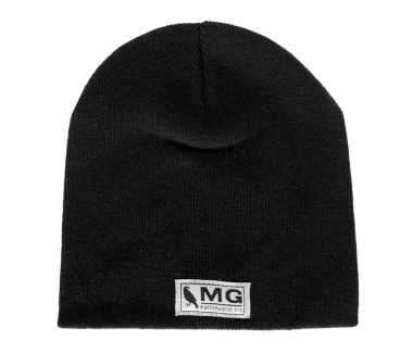 MG Bird Toque Black