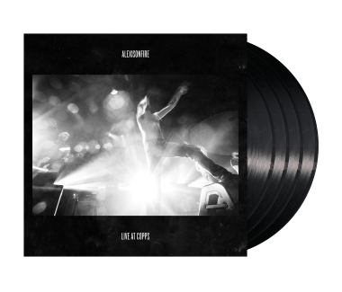 "Live at Copps (Vinyl + Blu-ray) 4x12"" Vinyl"