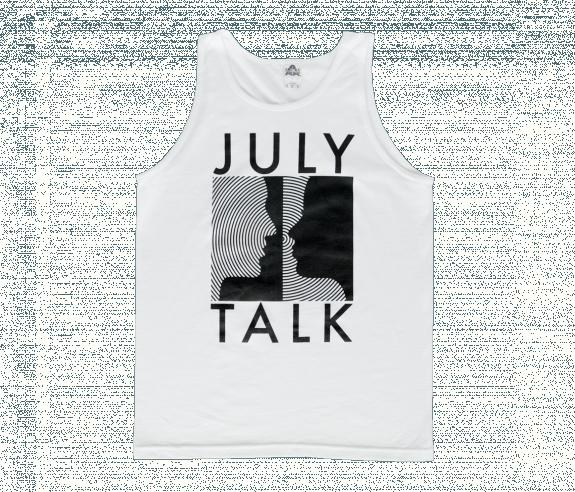 45759e6ea414a Circles Tank Top - White - Sale - July Talk Online Store