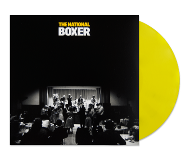 "Boxer 12"" Vinyl (Yellow)"