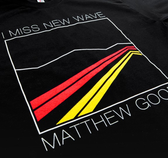 I Miss New Wave Tour T-Shirt