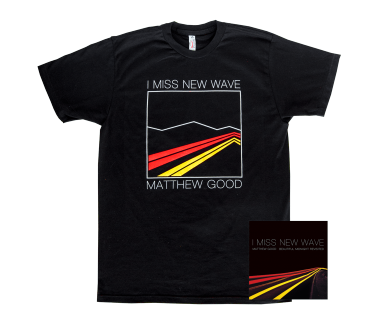 I Miss New Wave: CD + T-Shirt Bundle