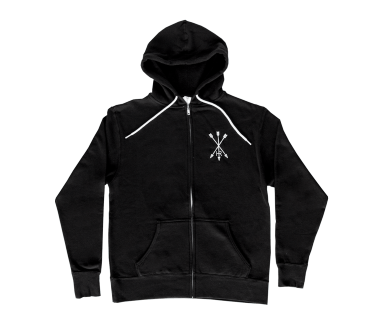 Arrow Eye Zip Hoody