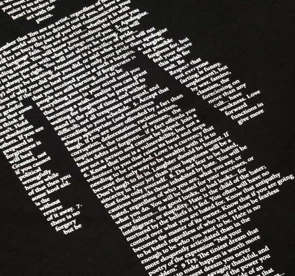 Poetry Lithograph T-Shirt