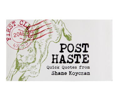 """Post Haste"" Postcard Book"