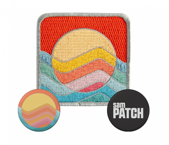 Patch 2 X Buttons Bundle Featured Sam Patch Online Store