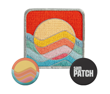 Patch + 2 x Buttons Bundle