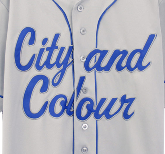 City and Colour Baseball Jersey