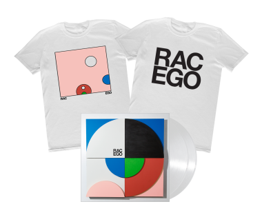 EGO Vinyl + T-Shirt Bundle