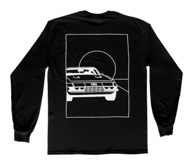 Sports Car Line Drawing Longsleeve