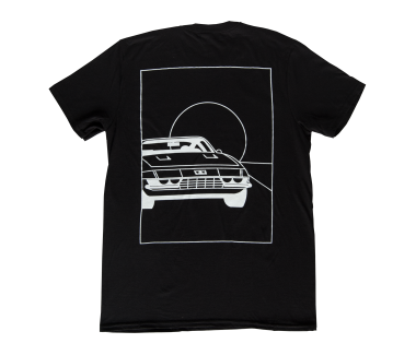 Sports Car Line Drawing T-Shirt