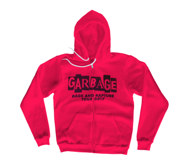 Rage and Rapture Tour Zip Hoodie