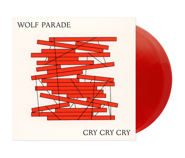 "Cry Cry Cry 2x12"" Vinyl (Transparent Red)"