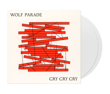 "Cry Cry Cry 2x12"" Vinyl (White)"