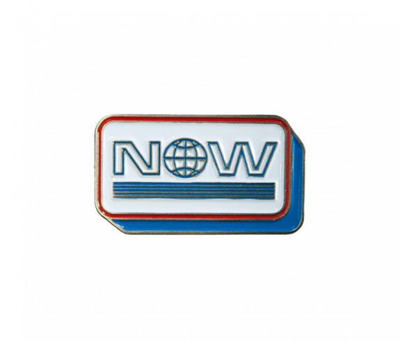 NOW Lapel Pin