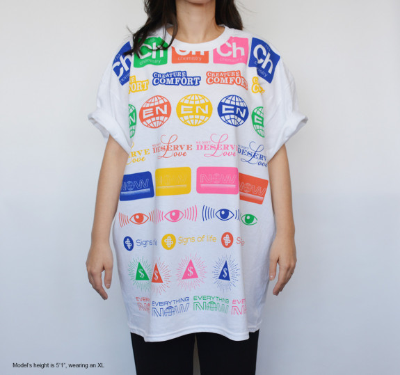 Oversized Allover Logos T-Shirt