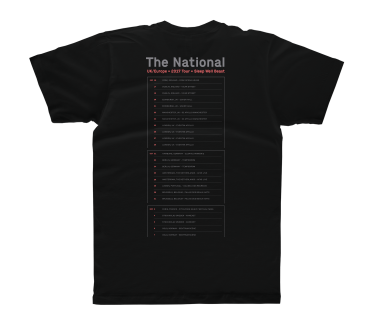 UK/Europe Tour 2017 T-Shirt