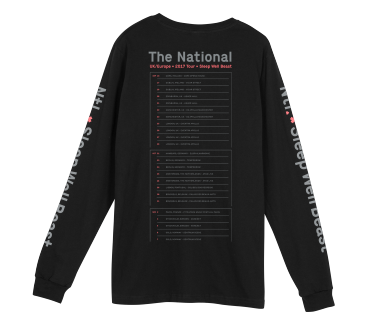 Ntl. Longsleeve - UK/Europe Tour 2017
