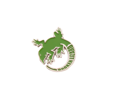 Lizard Logo Lapel Pin