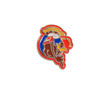 Johnny Chimpo Lapel Pin