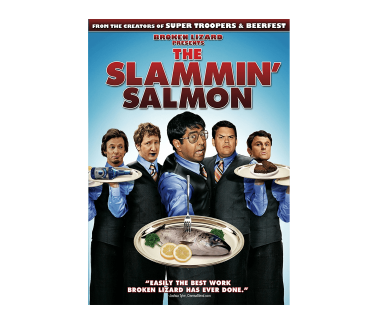 The Slammin' Salmon DVD