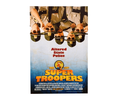 "Super Troopers Movie Poster (12""x18"")"