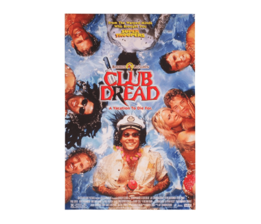 "Autographed Club Dread Movie Poster (12""x18"")"